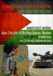 mani palestina 17 jul 2014